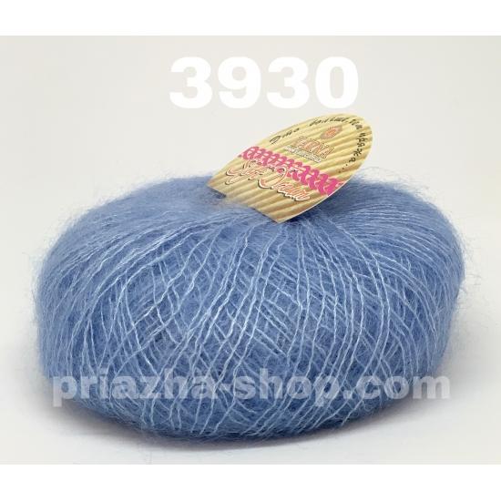 """пряжа bbb soft dream 3930 ( ббб софт дрим ) для вязания шалей, палантинов, платков, накидок, тонких ажурных пуловеров - купить в украине в интернет-магазине """"пряжа-shop"""" 2470 priazha-shop.com 2"""