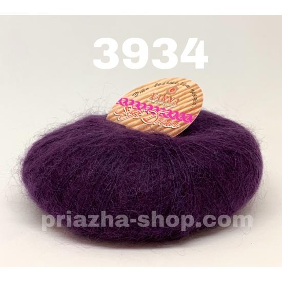 """пряжа bbb soft dream 3934 ( ббб софт дрим ) для вязания шалей, палантинов, платков, накидок, тонких ажурных пуловеров - купить в украине в интернет-магазине """"пряжа-shop"""" 2976 priazha-shop.com 2"""