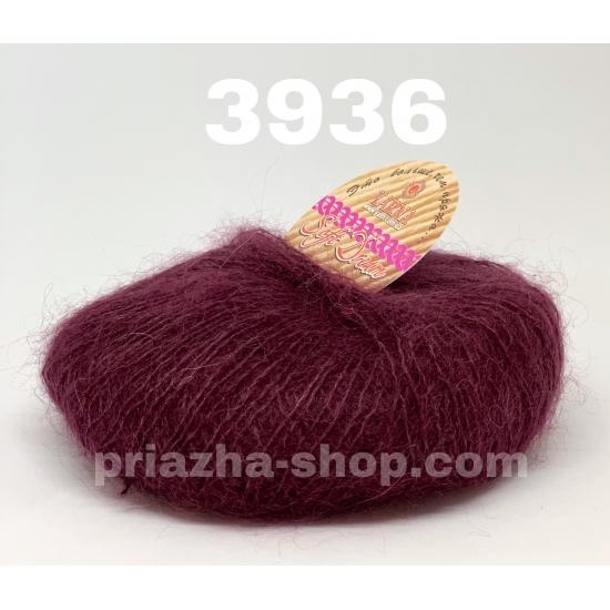 """пряжа bbb soft dream 3936 ( ббб софт дрим ) для вязания шалей, палантинов, платков, накидок, тонких ажурных пуловеров - купить в украине в интернет-магазине """"пряжа-shop"""" 2978 priazha-shop.com 2"""