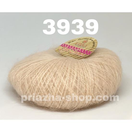 """пряжа bbb soft dream 3939 ( ббб софт дрим ) для вязания шалей, палантинов, платков, накидок, тонких ажурных пуловеров - купить в украине в интернет-магазине """"пряжа-shop"""" 2987 priazha-shop.com 2"""