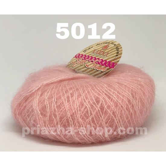 """пряжа bbb soft dream 5012 ( ббб софт дрим ) для вязания шалей, палантинов, платков, накидок, тонких ажурных пуловеров - купить в украине в интернет-магазине """"пряжа-shop"""" 2460 priazha-shop.com 2"""