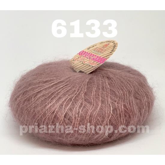 """пряжа bbb soft dream 6133 ( ббб софт дрим ) для вязания шалей, палантинов, платков, накидок, тонких ажурных пуловеров - купить в украине в интернет-магазине """"пряжа-shop"""" 2466 priazha-shop.com 2"""