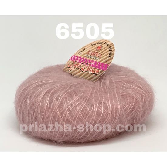 """пряжа bbb soft dream 6505 ( ббб софт дрим ) для вязания шалей, палантинов, платков, накидок, тонких ажурных пуловеров - купить в украине в интернет-магазине """"пряжа-shop"""" 2461 priazha-shop.com 2"""