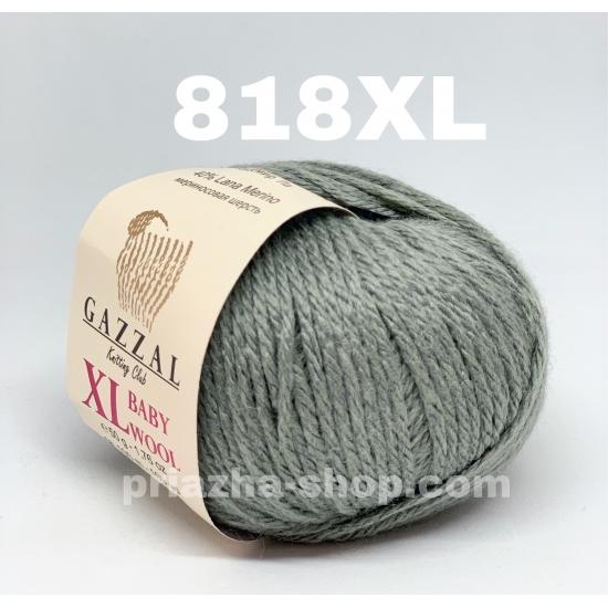 """пряжа gazzal baby wool xl 818 ( газзал беби вул хл ) для вязания теплой и оригинальной одежды детям и взрослым красивых и ярких оттенков - купить в украине в интернет-магазине """"пряжа-shop"""" 1056 priazha-shop.com 2"""