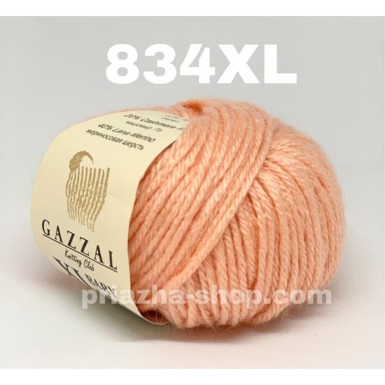 """пряжа gazzal baby wool xl 834 ( газзал беби вул хл ) для вязания теплой и оригинальной одежды детям и взрослым красивых и ярких оттенков - купить в украине в интернет-магазине """"пряжа-shop"""" 1046 priazha-shop.com 2"""