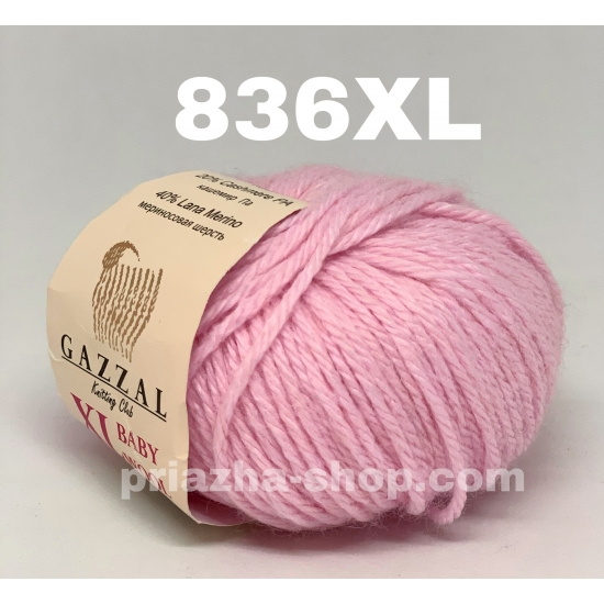 Gazzal Baby Wool XL 836