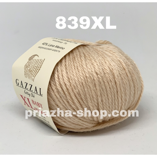 Gazzal Baby Wool XL 839