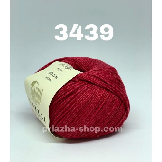 """пряжа gazzal baby cotton 3439 ( газзал беби коттон ) для вязания одежды взрослым и детям, ажурных изделий, игрушек и аксессуаров необъятной цветовой палитры - купить в украине в интернет-магазине """"пряжа-shop"""" 619 priazha-shop.com 2"""
