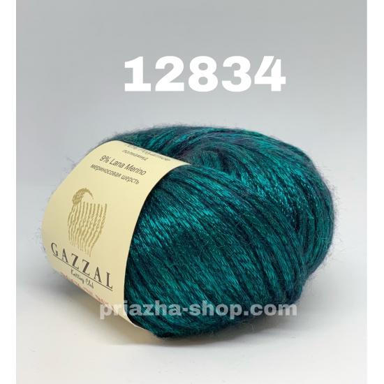"""пряжа gazzal rock'n roll 12834 ( газзал рок-н-рол ) для вязания теплой одежды взрослым и детям невообразимых оттенков - купить в украине в интернет-магазине """"пряжа-shop"""" 571 priazha-shop.com 2"""