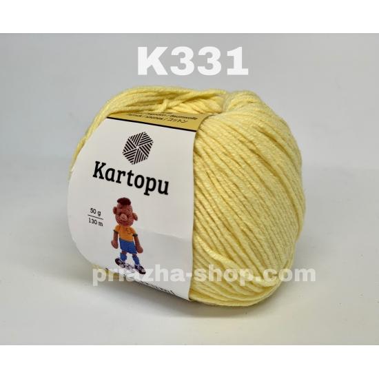 """пряжа kartopu amigurumi k331 ( картопу амигуруми ) для вязания игрушек, ажурных изделий, одежды взрослым и детям и аксессуаров разнообразных оттенков - купить в украине в интернет-магазине """"пряжа-shop"""" 243 priazha-shop.com 2"""