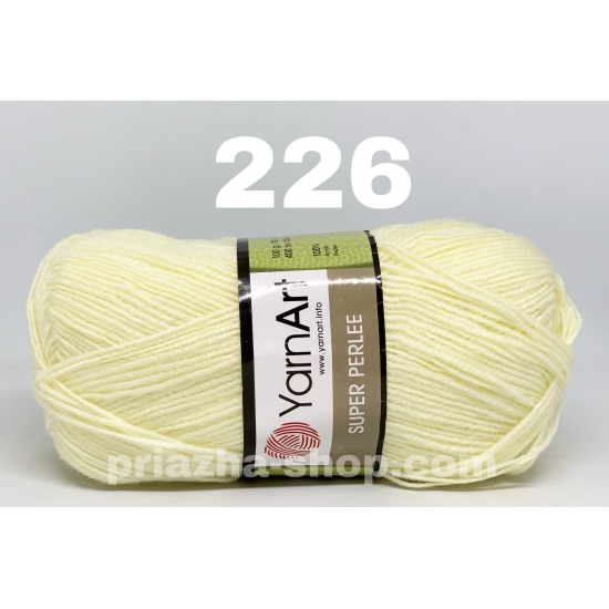 YarnArt Super Perlee 226