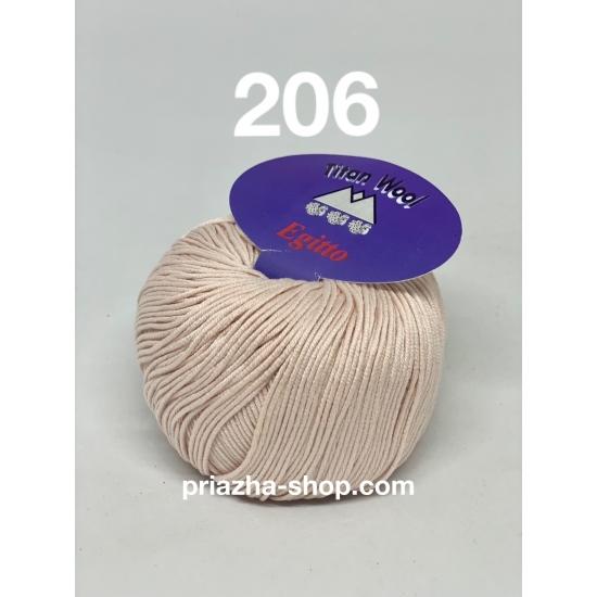"""пряжа titan wool egitto 206 ( титан вул эджито ) для вязания одежды взрослым и детям разнообразных оттенков - купить в украине в интернет-магазине """"пряжа-shop"""" 3813 priazha-shop.com 2"""