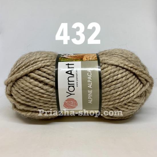 """пряжа yarnart alpine alpaca 432 ( ярнарт альпина альпака ) для вязания шапок, беретов, шарфов, снудов, кардиганов, пальто - купить в украине в интернет-магазине """"пряжа-shop"""" 2059 priazha-shop.com 2"""
