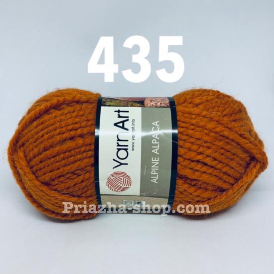 """пряжа yarnart alpine alpaca 435 ( ярнарт альпина альпака ) для вязания шапок, беретов, шарфов, снудов, кардиганов, пальто - купить в украине в интернет-магазине """"пряжа-shop"""" 2051 priazha-shop.com 2"""