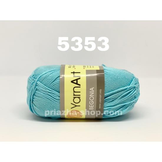 """пряжа yarnart begonia 5353 ( ярнарт бегония ) для вязания ажурных и детских шапочек, панамок, кофточек, одежды для детей и взрослых - в интернет-магазине """"пряжа-shop"""" 268 priazha-shop.com 2"""