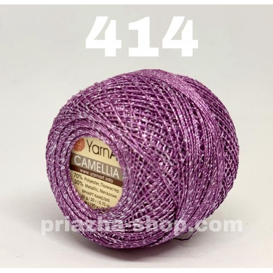 """пряжа yarnart camellia 414 ( ярнарт камелия ) для вязания одежды, декора, отделки с большим выбором цветов - с доставкой по украине в интернет-магазине """"пряжа-shop"""" 2647 priazha-shop.com 2"""