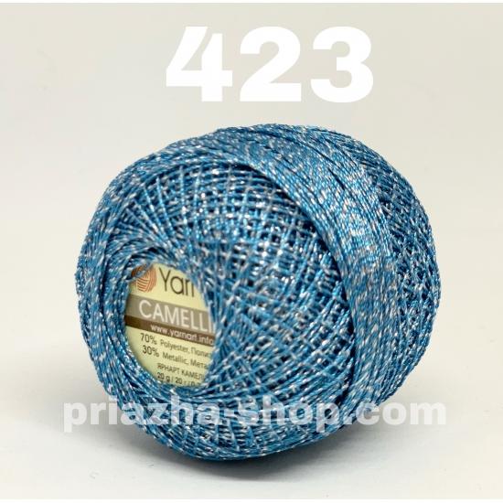 """пряжа yarnart camellia 423 ( ярнарт камелия ) для вязания одежды, декора, отделки с большим выбором цветов - с доставкой по украине в интернет-магазине """"пряжа-shop"""" 2644 priazha-shop.com 2"""