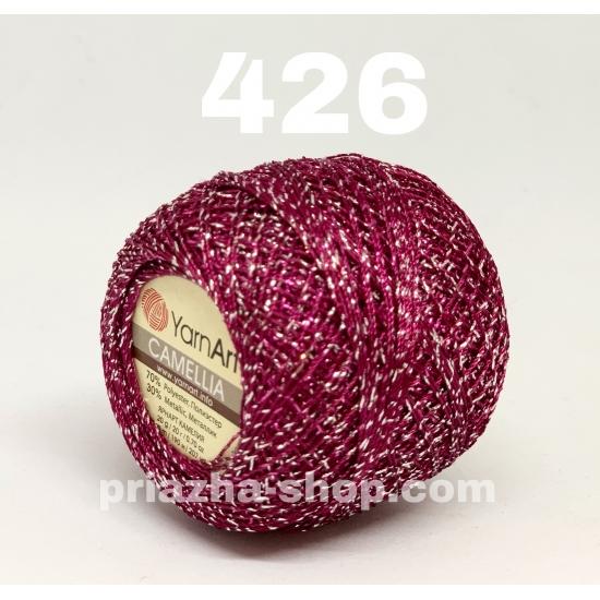 """пряжа yarnart camellia 426 ( ярнарт камелия ) для вязания одежды, декора, отделки с большим выбором цветов - с доставкой по украине в интернет-магазине """"пряжа-shop"""" 2649 priazha-shop.com 2"""