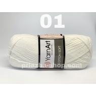 """пряжа yarnart cotton soft 75 ( ярнарт коттон софт ) для вязания одежды малышам, ажурных изделий с широким выбором цветов - купить в украине в интернет-магазине """"пряжа-shop"""" 2235 priazha-shop.com 10"""