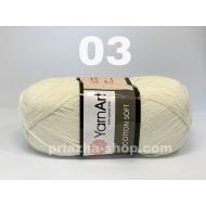"""пряжа yarnart cotton soft 75 ( ярнарт коттон софт ) для вязания одежды малышам, ажурных изделий с широким выбором цветов - купить в украине в интернет-магазине """"пряжа-shop"""" 2235 priazha-shop.com 7"""