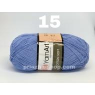 """пряжа yarnart cotton soft 75 ( ярнарт коттон софт ) для вязания одежды малышам, ажурных изделий с широким выбором цветов - купить в украине в интернет-магазине """"пряжа-shop"""" 2235 priazha-shop.com 17"""