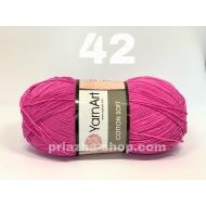 """пряжа yarnart cotton soft 75 ( ярнарт коттон софт ) для вязания одежды малышам, ажурных изделий с широким выбором цветов - купить в украине в интернет-магазине """"пряжа-shop"""" 2235 priazha-shop.com 4"""