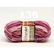 YarnArt Crazy Color 136