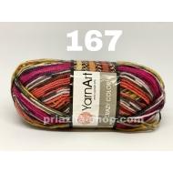 YarnArt Crazy Color 167