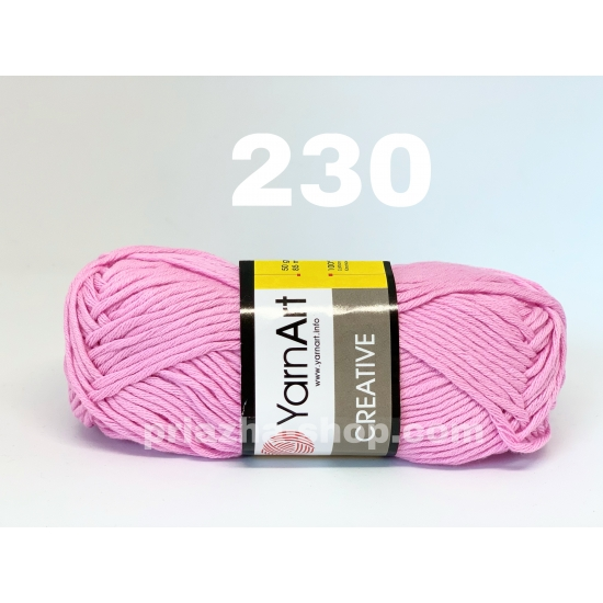 """пряжа yarnart creative 230 ( ярнарт креатив ) для вязания одежды взрослым и детям разнообразных цветов - купить в украине в интернет-магазине """"пряжа-shop"""" 523 priazha-shop.com 2"""