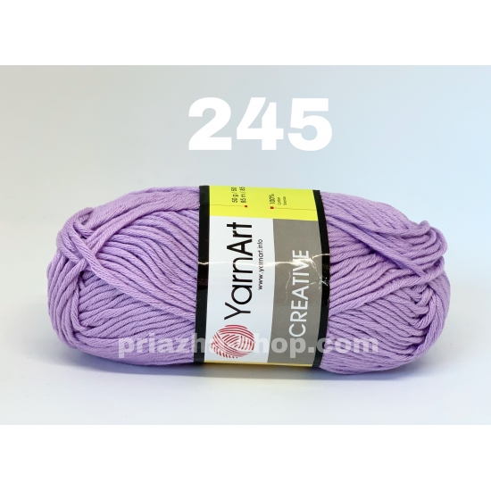 """пряжа yarnart creative 245 ( ярнарт креатив ) для вязания одежды взрослым и детям разнообразных цветов - купить в украине в интернет-магазине """"пряжа-shop"""" 524 2"""