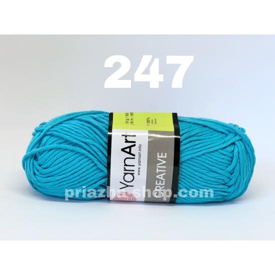 """пряжа yarnart creative 247 ( ярнарт креатив ) для вязания одежды взрослым и детям разнообразных цветов - купить в украине в интернет-магазине """"пряжа-shop"""" 521 priazha-shop.com 2"""