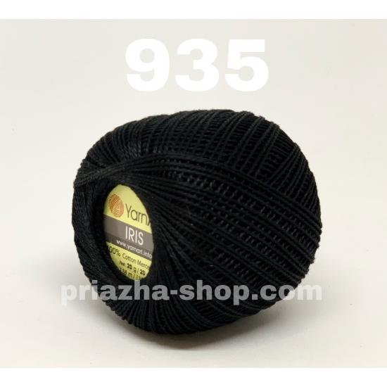 """пряжа yarnart iris 935 ( ярнарт ирис ) для вязания сарафанов, туник, летних кофт, юбок, ирландского кружева, салфеток во всевозможніх цветах и оттенках - купить в украине в интернет-магазине """"пряжа-shop"""" 2852 priazha-shop.com 2"""