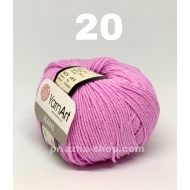 """пряжа yarnart cotton soft 05 ( ярнарт коттон софт ) для вязания одежды малышам, ажурных изделий с широким выбором цветов - купить в украине в интернет-магазине """"пряжа-shop"""" 286 priazha-shop.com 42"""