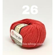 """пряжа yarnart cotton soft 05 ( ярнарт коттон софт ) для вязания одежды малышам, ажурных изделий с широким выбором цветов - купить в украине в интернет-магазине """"пряжа-shop"""" 286 priazha-shop.com 41"""