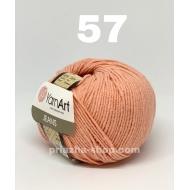 """пряжа yarnart jeans 68 ( ярнарт джинс ) для вязания одежды взрослым и детям, ажурных изделий, игрушек и аксессуаров разнообразніх оттенков - купить в украине в интернет-магазине """"пряжа-shop"""" 625 priazha-shop.com 6"""