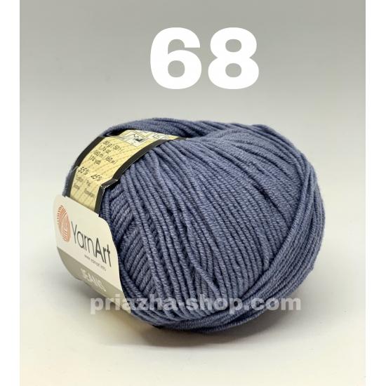 """пряжа yarnart jeans 68 ( ярнарт джинс ) для вязания одежды взрослым и детям, ажурных изделий, игрушек и аксессуаров разнообразніх оттенков - купить в украине в интернет-магазине """"пряжа-shop"""" 625 priazha-shop.com 2"""