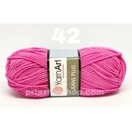 """пряжа yarnart jeans plus 88 ( ярнарт джинс плюс ) для вязания одежды взрослым и детям, ажурных изделий, игрушек в практически неограниченной палитре оттенков - купить в украине в интернет-магазине """"пряжа-shop"""" 3464 priazha-shop.com 4"""