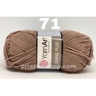 """пряжа yarnart jeans plus 70 ( ярнарт джинс плюс ) для вязания одежды взрослым и детям, ажурных изделий, игрушек в практически неограниченной палитре оттенков - купить в украине в интернет-магазине """"пряжа-shop"""" 705 priazha-shop.com 25"""