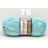 """пряжа yarnart jeans plus 88 ( ярнарт джинс плюс ) для вязания одежды взрослым и детям, ажурных изделий, игрушек в практически неограниченной палитре оттенков - купить в украине в интернет-магазине """"пряжа-shop"""" 3464 priazha-shop.com 6"""