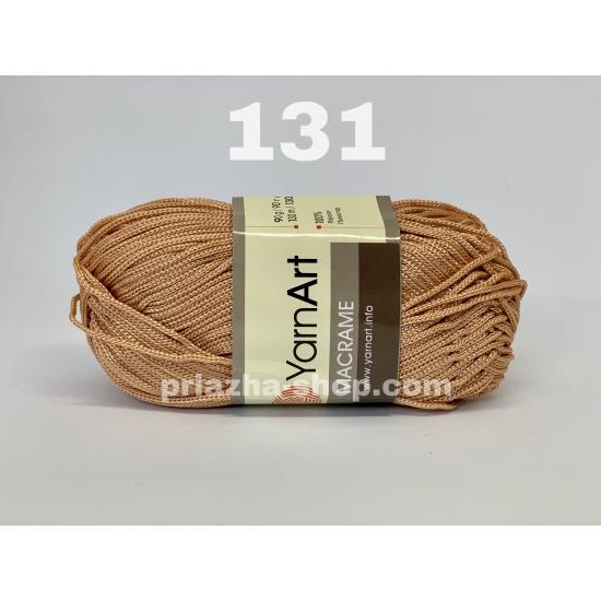 """пряжа yarnart macrame 131 ( ярнарт макраме ) для вязания сумок, ковриков, салфеток с разнообразной палитрой цветов - купить в украине в интернет-магазине """"пряжа-shop"""" 223 priazha-shop.com 2"""