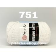 """пряжа yarnart macrame cotton 756 ( ярнарт макраме коттон ) для вязания сумок и аксессуаров с большим выбором цветов - купить в украине в интернет-магазине """"пряжа-shop"""" 2961 priazha-shop.com 26"""