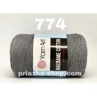 """пряжа yarnart macrame cotton 756 ( ярнарт макраме коттон ) для вязания сумок и аксессуаров с большим выбором цветов - купить в украине в интернет-магазине """"пряжа-shop"""" 2961 priazha-shop.com 22"""