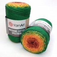 """пряжа yarnart macrame cotton spectrum 1318 ( ярнарт макраме коттон спектрум ) для вязания и плетения сумок, клатчей, ковриков, дорожек, салфеток, корзинок, игрушек невероятных оттенков - купить в украине в интернет-магазине """"пряжа-shop"""" 6478 priazha-shop.com 10"""