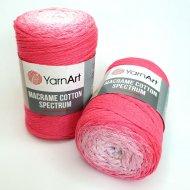 """пряжа yarnart macrame cotton spectrum 1318 ( ярнарт макраме коттон спектрум ) для вязания и плетения сумок, клатчей, ковриков, дорожек, салфеток, корзинок, игрушек невероятных оттенков - купить в украине в интернет-магазине """"пряжа-shop"""" 6478 priazha-shop.com 13"""