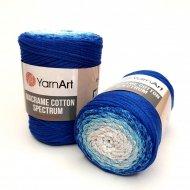 """пряжа yarnart macrame cotton spectrum 1318 ( ярнарт макраме коттон спектрум ) для вязания и плетения сумок, клатчей, ковриков, дорожек, салфеток, корзинок, игрушек невероятных оттенков - купить в украине в интернет-магазине """"пряжа-shop"""" 6478 priazha-shop.com 14"""