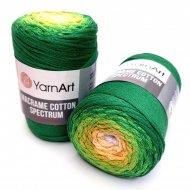 """пряжа yarnart macrame cotton spectrum 1318 ( ярнарт макраме коттон спектрум ) для вязания и плетения сумок, клатчей, ковриков, дорожек, салфеток, корзинок, игрушек невероятных оттенков - купить в украине в интернет-магазине """"пряжа-shop"""" 6478 priazha-shop.com 15"""