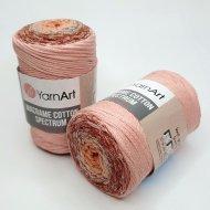 """пряжа yarnart macrame cotton spectrum 1318 ( ярнарт макраме коттон спектрум ) для вязания и плетения сумок, клатчей, ковриков, дорожек, салфеток, корзинок, игрушек невероятных оттенков - купить в украине в интернет-магазине """"пряжа-shop"""" 6478 priazha-shop.com 19"""