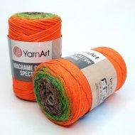 """пряжа yarnart macrame cotton spectrum 1318 ( ярнарт макраме коттон спектрум ) для вязания и плетения сумок, клатчей, ковриков, дорожек, салфеток, корзинок, игрушек невероятных оттенков - купить в украине в интернет-магазине """"пряжа-shop"""" 6478 priazha-shop.com 21"""