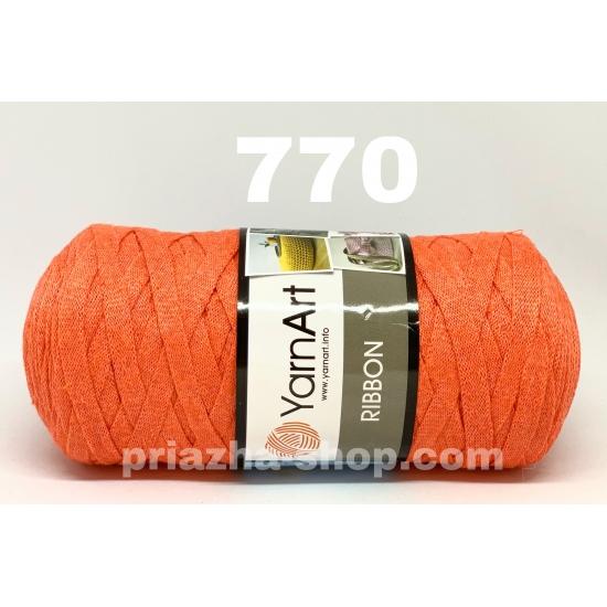 """пряжа yarnart ribbon 770 ( ярнарт риббон ): для вязания чехлов, пуфиков, плетения сумок, салфеток, рюкзаков, корзинок, модных клатчей, хлопковых пледов и ажурных ковриков - доставка по всей украине из интернет-магазина """"пряжа-shop"""" 2724 priazha-shop.com 2"""