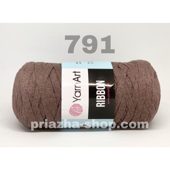 """пряжа yarnart ribbon 791 ( ярнарт риббон ): для вязания чехлов, пуфиков, плетения сумок, салфеток, рюкзаков, корзинок, модных клатчей, хлопковых пледов и ажурных ковриков - доставка по всей украине из интернет-магазина """"пряжа-shop"""" 3817 priazha-shop.com 2"""